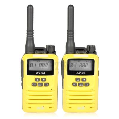 ADI AV-03 FRS 免執照 袖珍迷你型 無線電對講機