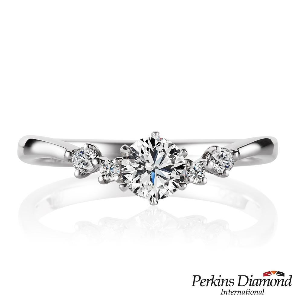 PERKINS 伯金仕 - GIA Princess系列 30分鑽石戒指