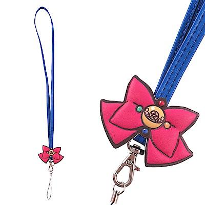 美少女戰士 經典蝴蝶結手機長吊繩/識別證帶 @ Y!購物