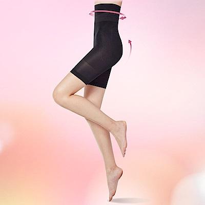 【THECURVE】全速修身微整型三分褲超值2入組(經典黑)