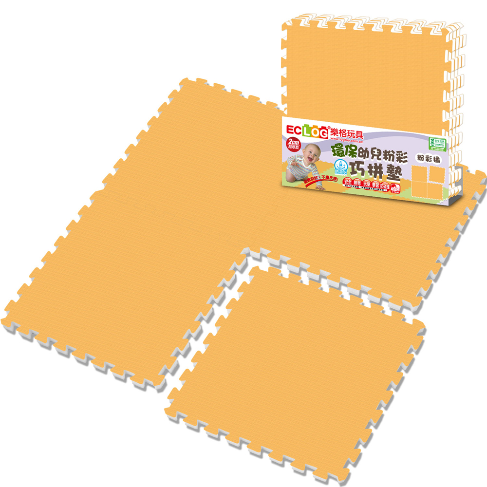 LOG樂格 環保無毒EPE粉彩巧拼墊 -波斯菊 (60X60cmX厚2cmX4片)