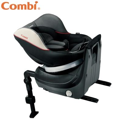 Combi Neseruturn Isofix旋轉式汽車安全座椅 時尚黑
