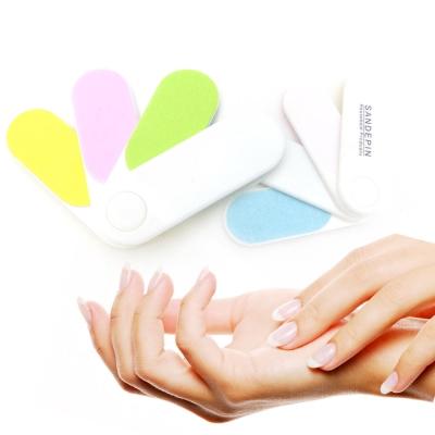 魔術美甲拋光磚板入組-四彩指甲拋光片-手足保養水晶指甲專用