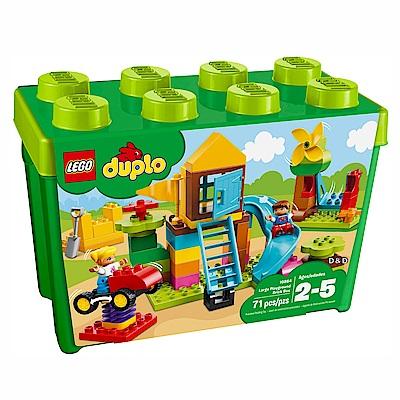 2018 樂高LEGO Duplo 幼兒系列 - LT10864 大遊樂場顆粒盒