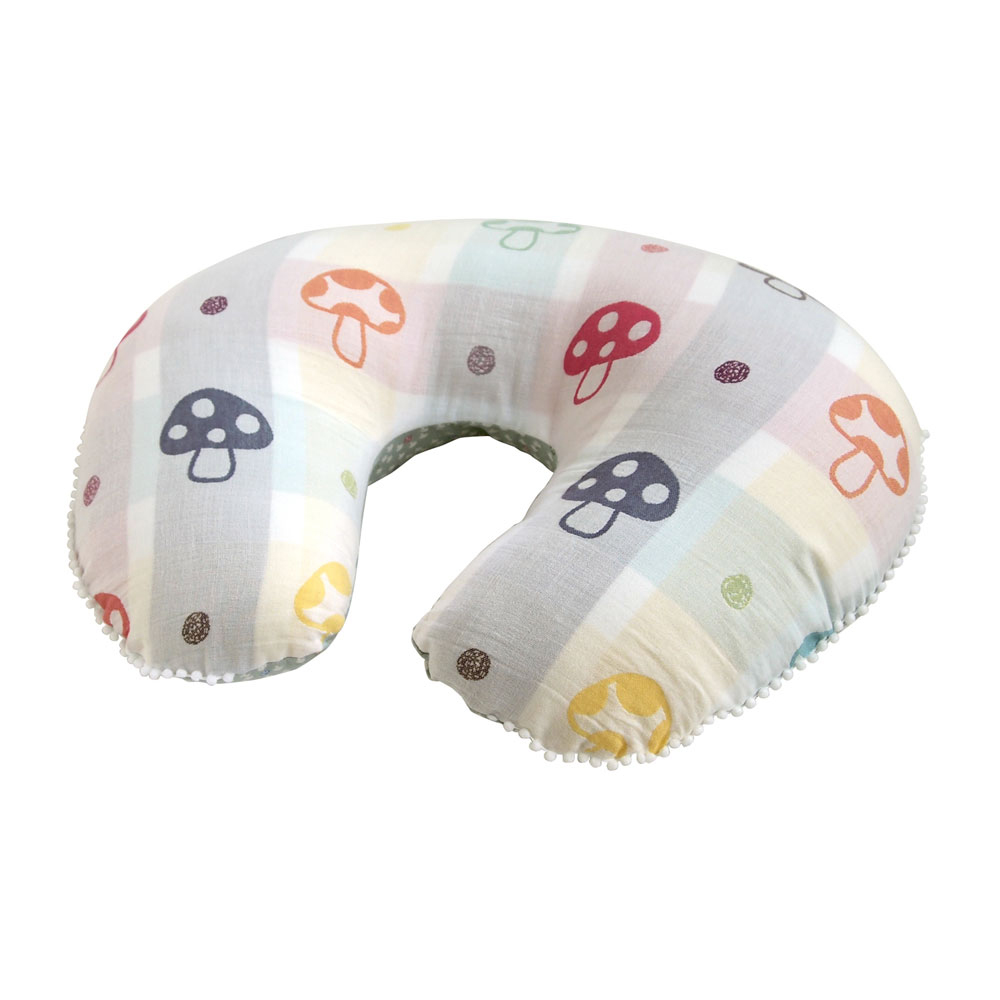 Hoppetta 蘑菇多用途授乳枕