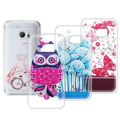 VXTRA HTC 10 / M10 法式浪漫 彩繪軟式手機殼