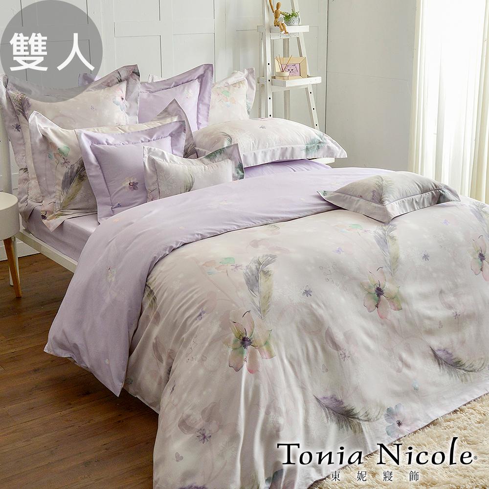 Tonia Nicole東妮寢飾 冰雪精靈環保印染精梳棉兩用被床包組(雙人)