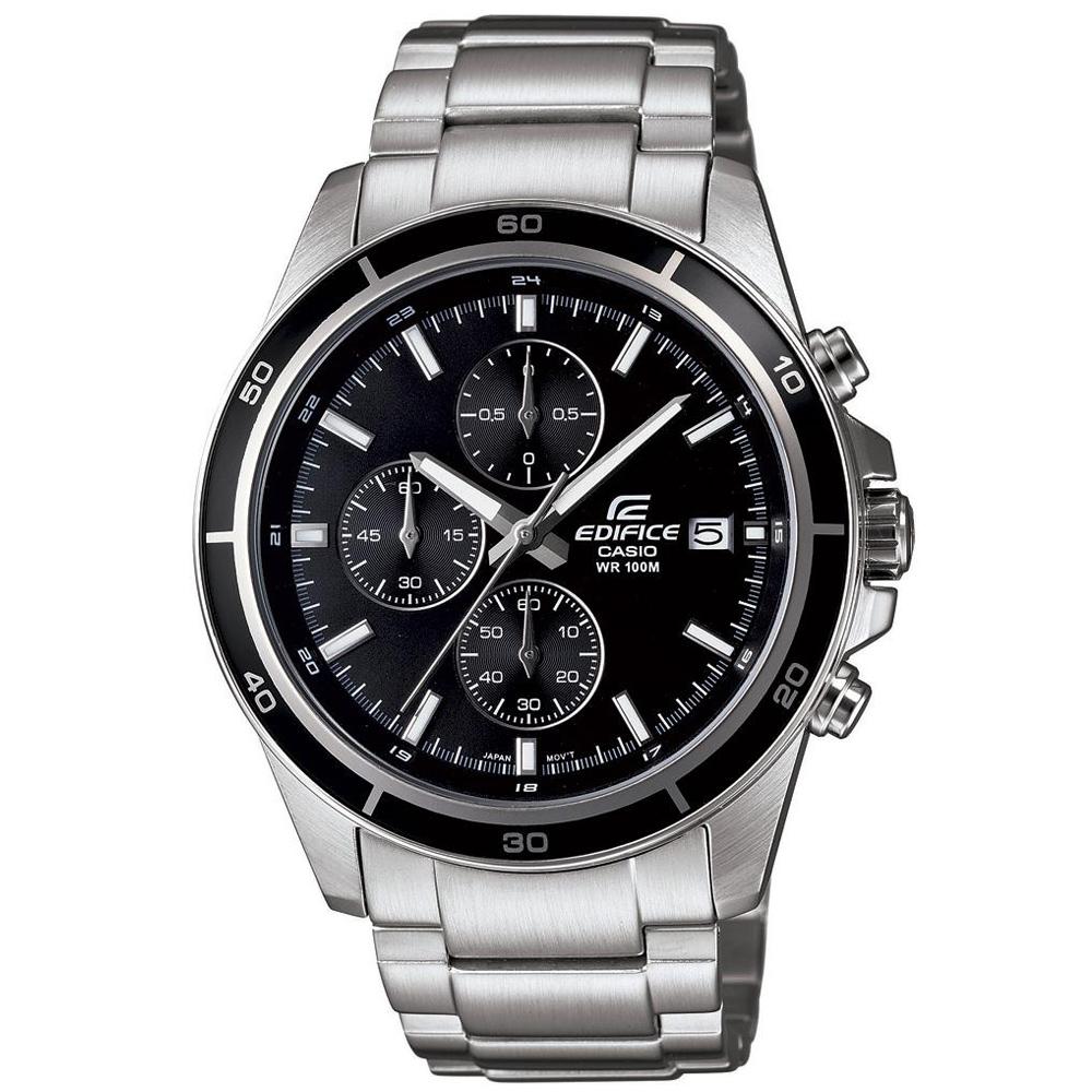EDIFICE 精準時刻賽車計時腕錶(EFR-526D-1A)-黑/43.8mm