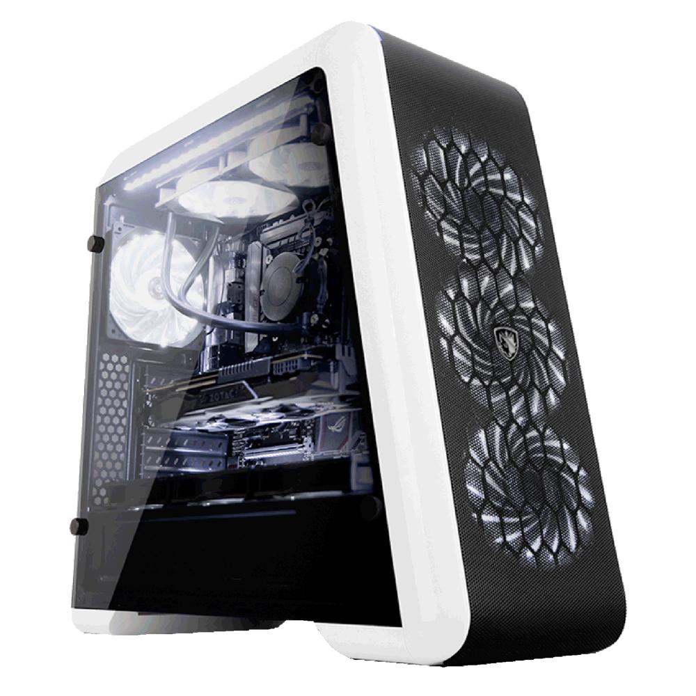 微星GAMER黑色戰神Intel i7-8700K GTX1070電競VR虛擬實境機