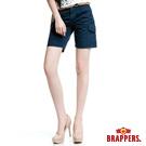 BRAPPERS 女款 女用五分褲-藍