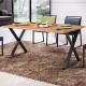 工業風 派亞特思4.3尺餐桌-130x80x76cm product thumbnail 1