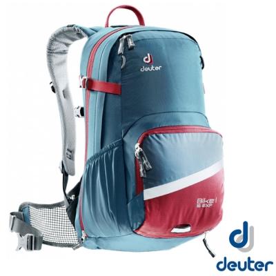 德國Deuter Buke 1 Air EXP 16L自行車網架透氣背包深藍紅