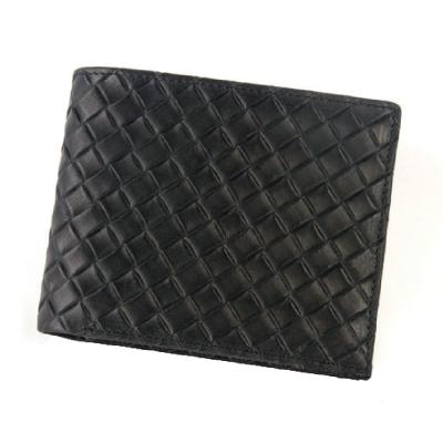 Majacase-客製化手工皮件 短夾 錢包 鈔票夾 信用卡夾 名片夾 編織紋 牛皮訂製