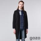 gozo 實踐家生活宣言長版罩衫(二色)-動態show