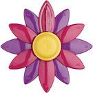 KitchenCraft 紫雛菊發條計時器