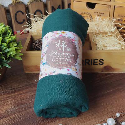 ACUBY-糖果風多層次搭配薄圍巾-綠