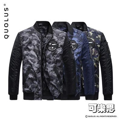 可樂思 迷彩 MA-1  鋪棉 防風 空軍 外套