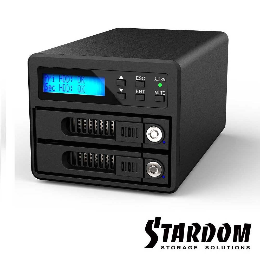 RAIDON 2.5吋/3.5吋USB3.0/eSATA 2bay磁碟陣列