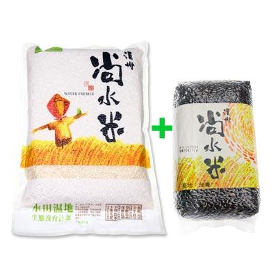溪州尚水米 糙米3包+紫米4包(2kgx3+800gx4)