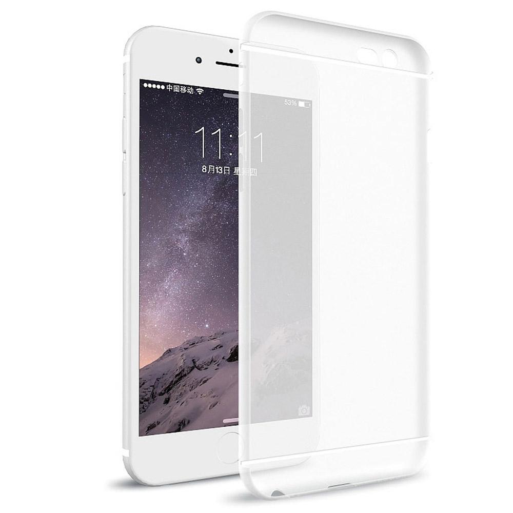 透明殼專家 iphone 6 plus / 6s plus 鏡頭保護抗指紋手機殼+保貼組