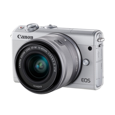 Canon EOS M100 15-45mm STM 變焦鏡組 (公司貨)