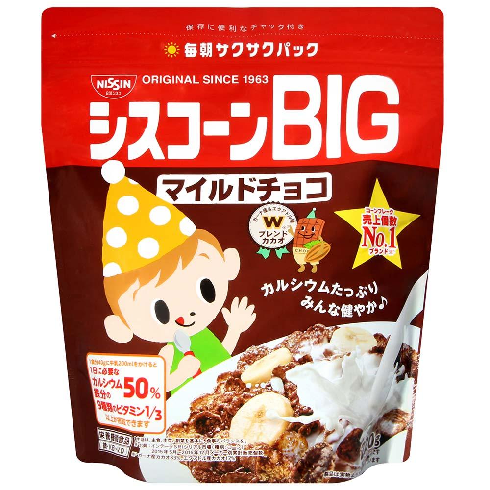 日清Cisco BIG濃醇巧克力早餐玉米片(220g)