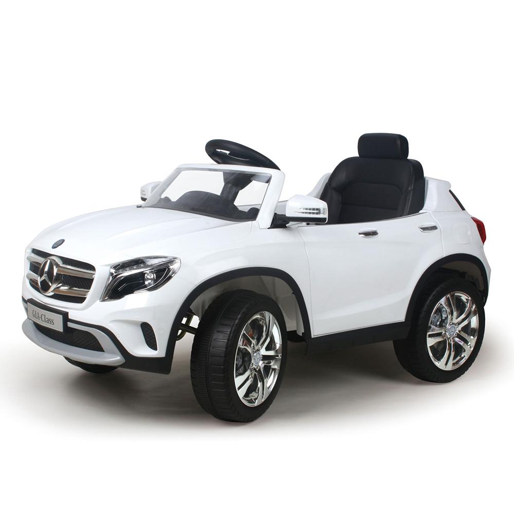 寶貝樂精選 奔馳GLA電動車-白色