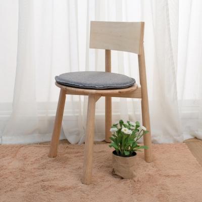 諾雅度 原生實木A腳餐椅