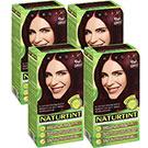 NATURTINT赫本染髮劑 4M深棕紅色(4盒組)