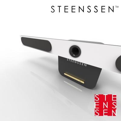 【丹麥 STEENSSEN】高階藍牙原音劇院系統- AIR品味翱翔限定款(鋼琴白)