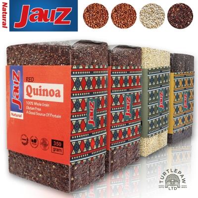 【JAUZ喬斯】藜麥QUINOA  紅2包+白1包+黑1包 (350公克*4包)