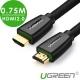 綠聯 HDMI 2.0傳輸線 BRAID版 0.75M product thumbnail 1