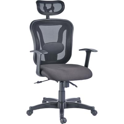 【NICK】靠枕雙層背框尼龍網背主管椅