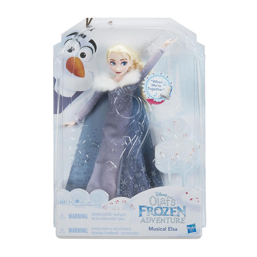 迪士尼公主系列 - 冰雪奇緣雪寶的佳節冒險歡唱艾莎
