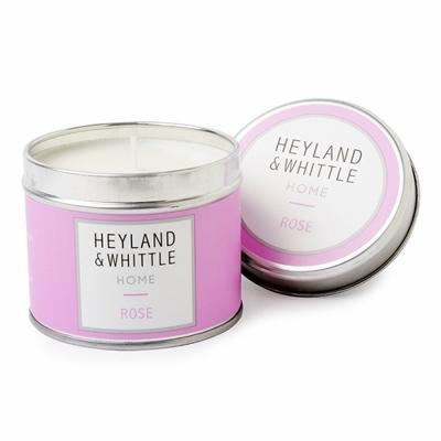 H&W英倫薇朵 盛夏玫瑰香氛燭罐 180g