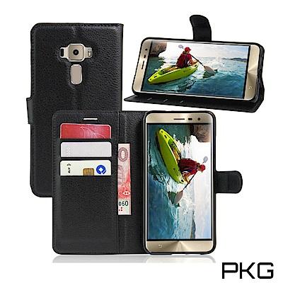 PKG ASUS Zenfone3 (ZE552KL)側翻式皮套-精選皮套-經典...