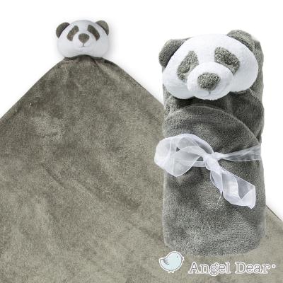 美國 Angel Dear 大頭動物嬰兒毛毯 (熊貓)