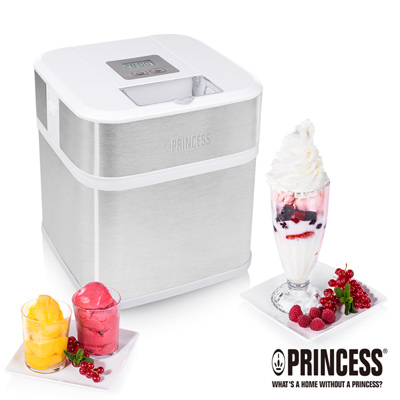 PRINCESS荷蘭公主1.5L半自動冰淇淋機282605