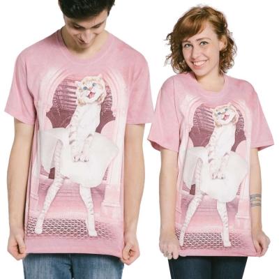摩達客 美國進口The Mountain 瑪麗蓮夢貓 純棉環保短袖T恤