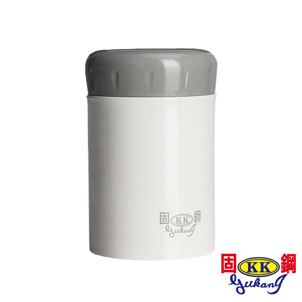 固鋼 嬰幼兒專用一體成型316不鏽鋼燜燒罐400mL(珍珠白)