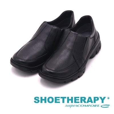 SAPATOTERAPIA 巴西型男簡約風格直套式休閒鞋 男鞋-黑