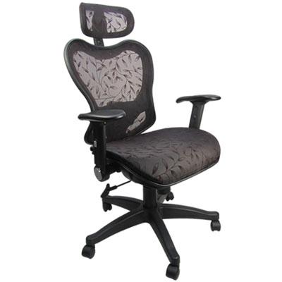 邏爵家具 復古系和風全網主管椅/辦公椅