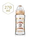 小獅王辛巴 蘿蔓晶鑽寬口葫蘆玻璃大奶瓶(270ml)-3色可選