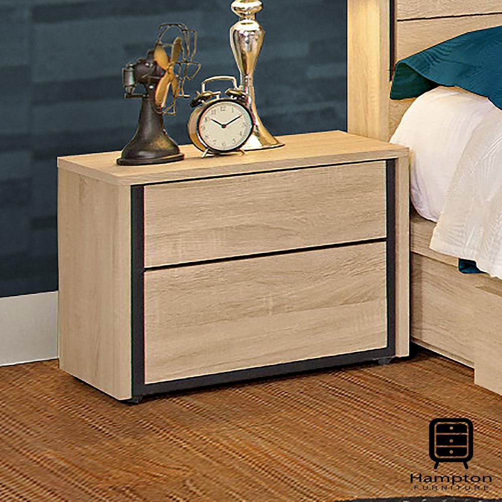漢妮Hampton艾布納1.6尺床頭櫃-48.2x40x39.5cm