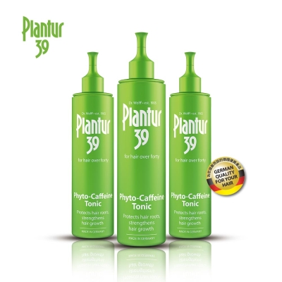 Plantur39 植物與咖啡因頭髮液200ML 三入