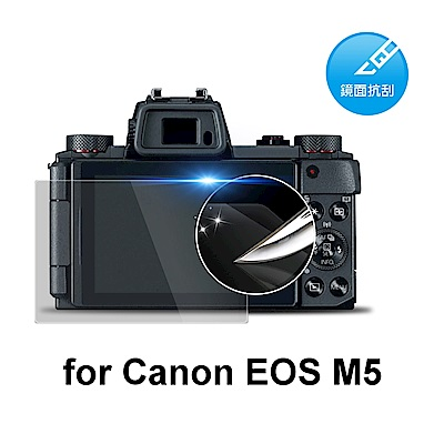 D&A Canon EOS M5 相機專用日本原膜HC螢幕保護貼(鏡面抗刮)