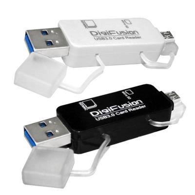 伽利略 USB3.0 / Micro USB 2.0 雙介面 OTG 讀卡機