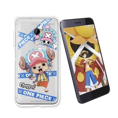 東映授權正版 航海王 HTC One X10 透明軟式手機殼(封鎖喬巴)