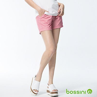 bossini女裝-素色輕便短褲01珊瑚色