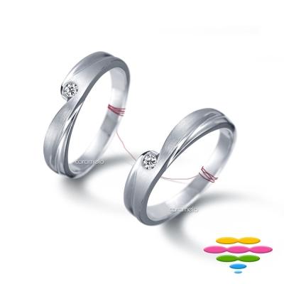彩糖鑽工坊 鑽石對戒 熱戀系列